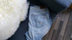 Boyfriend Jeans von H&M in hellblau, Denim 28/32