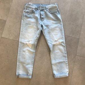Levi's Boyfriend jeans azuur
