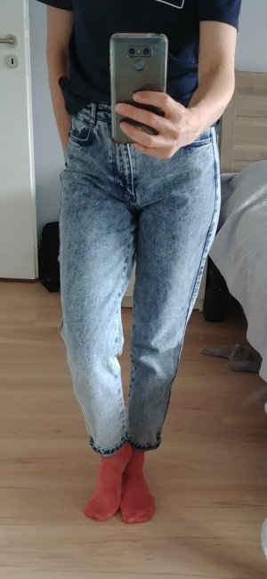 Subdued Pantalone boyfriend blu