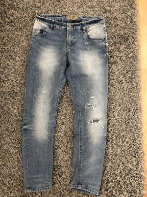 Zara Boyfriend Trousers multicolored