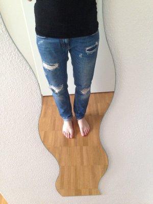 Boyfriend Jeans Zara destroyed S
