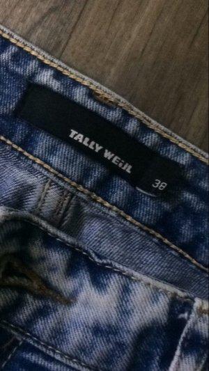 Tally Weijl Boyfriend Trousers blue