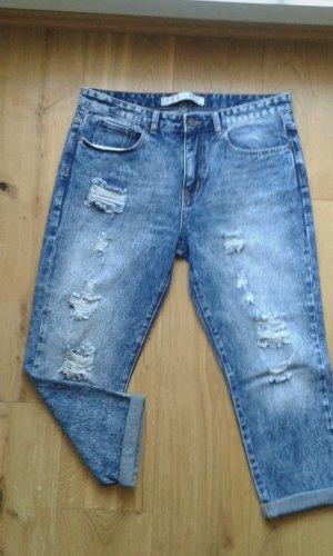 Boyfriend Ripped Jeans NEU