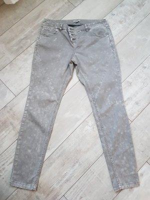 s.Oliver Boyfriend Trousers grey brown