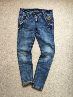 Cream Boyfriend Jeans blue