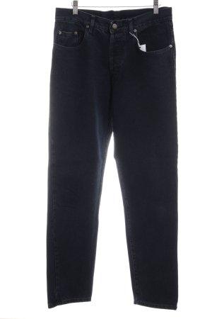 Boyfriend jeans donkerblauw boyfriend stijl