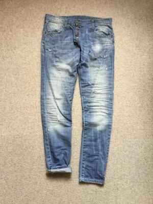 Please Boyfriend Jeans azure