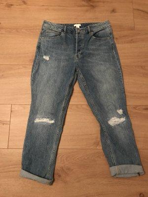 H&M Boyfriend Jeans azure