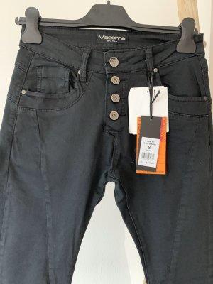 Madonna Jeans boyfriend nero