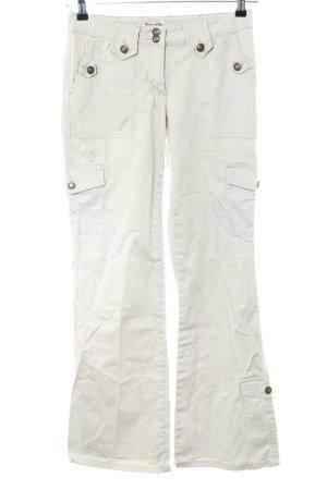 Boysen's Pantalone cargo grigio chiaro stile casual
