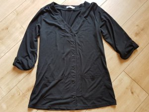 BPC Bonprix Collection Long Sweatjacke 3/4 Arm Schwarz S 36