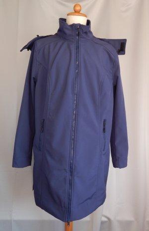 bpc,Bonprix Collection,Softshellmantel,abnehmb.Kapuze,jeansblau,Gr. 48
