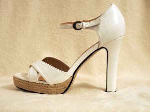 bpc High Heel Sandal white synthetic