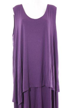 bpc Jerseykleid lila schlichter Stil