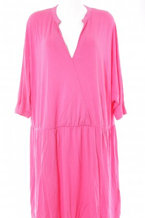 bpc Jerseykleid pink Street-Fashion-Look