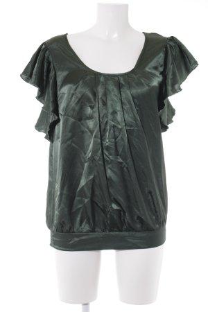 bpc Kurzarm-Bluse waldgrün Elegant