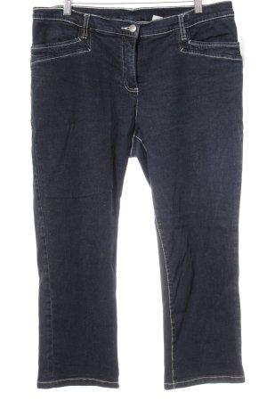 bpc selection Jeans 7/8 bleu foncé style décontracté