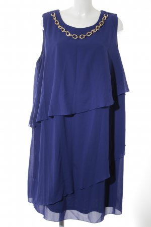 bpc selection Abendkleid blau-goldfarben Elegant