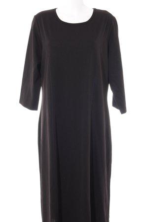 bpc selection Langarmkleid schwarz schlichter Stil
