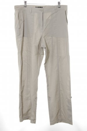 bpc selection Leinenhose hellbeige Casual-Look