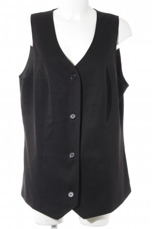 bpc selection Long Knitted Vest black elegant