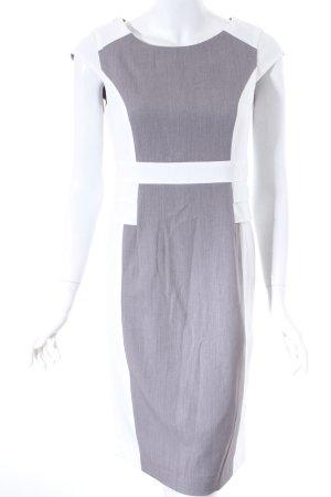 BPC Selection Premium Etuikleid wollweiß-grau Elegant
