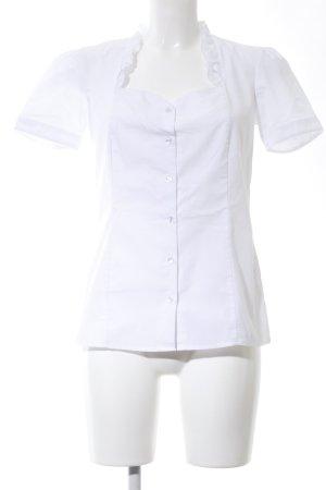 BPC Selection Premium Short Sleeved Blouse white business style