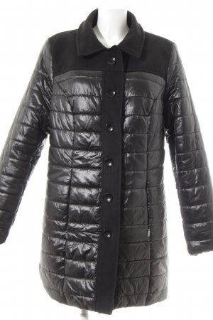 bpc selection Steppjacke schwarz Casual-Look