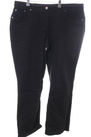 bpc selection Straight-Leg Jeans schwarz Business-Look