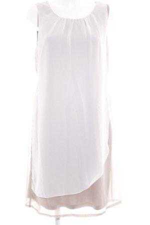 bpc selection Trägerkleid graubraun-weiß Elegant