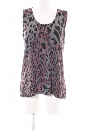 bpc Knitted Top leopard pattern casual look