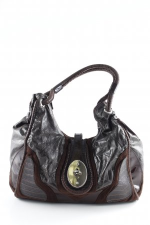 Braccialini Bolso barrel multicolor look casual