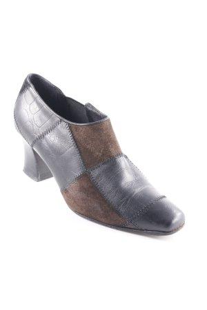 Braccialini Slip-on Shoes black-dark brown extravagant style