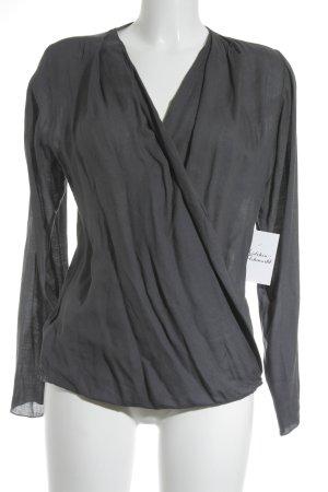 Braez Langarm-Bluse dunkelgrau Elegant