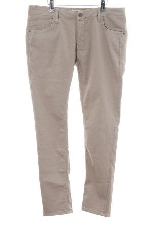 Braez Jeans skinny blanc cassé style d'affaires