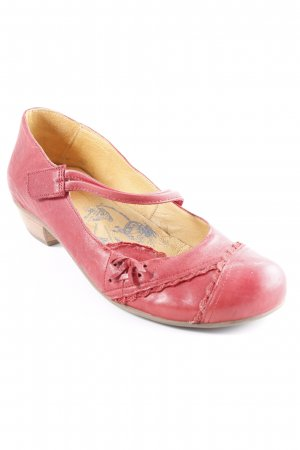 Brako Mary Jane Ballerinas rot Casual-Look