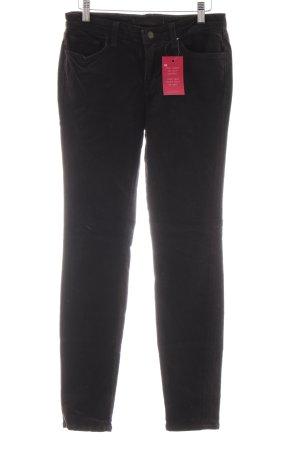 Brand Pantalón de pana marrón oscuro look vintage