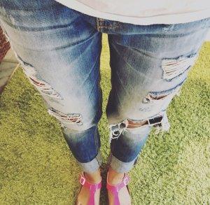 Brandalism Boyfriend Jeans blue