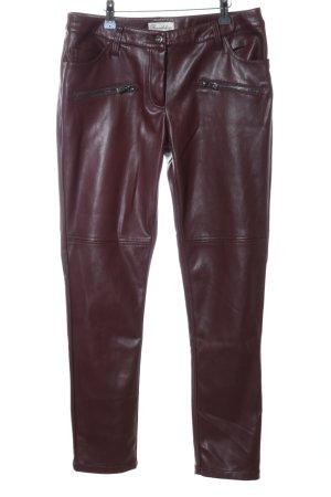 Brandalism Drainpipe Trousers brown casual look