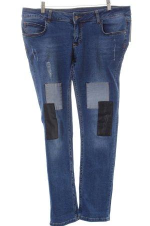 Brandalism Skinny Jeans mehrfarbig Casual-Look