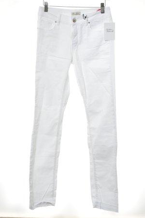 Brandalism Slim Jeans weiß Casual-Look