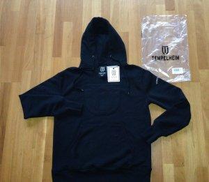Brandhoodstore Tempelheim Pullover Kapuzenpullover schwarz Neu mit Etikett Gr S