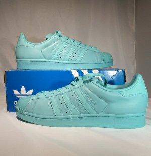 Brandneu! Adidas  Superstar Glossy Toe W Sneaker. Größe: EUR (43 1/3) Mint. Sportschuhe, Turnschuhe