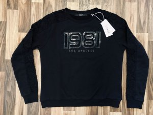 Guess Crewneck Sweater black cotton