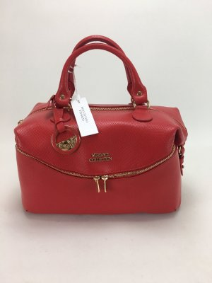 Versace Collection Bowling Bag red