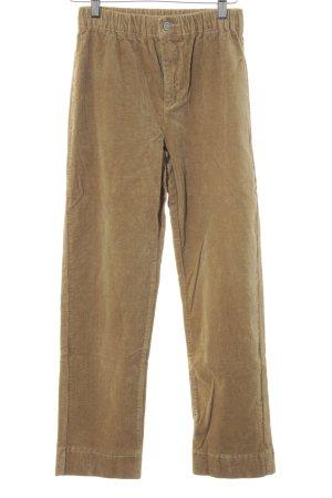 Brandy & Melville Pantalone di velluto a coste ocra look vintage