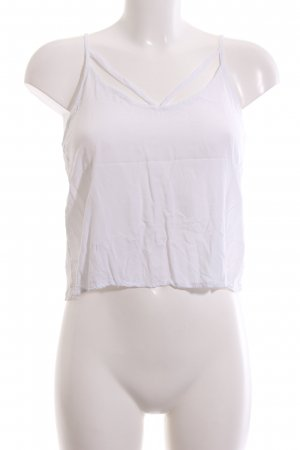 Brandy & Melville Cropped Top white casual look