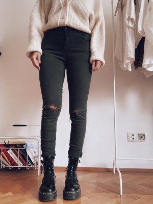 Brandy & Melville Pantalon taille haute multicolore
