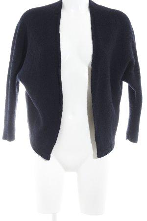 Brandy & Melville Kurz-Blazer dunkelblau Casual-Look