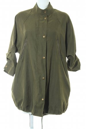 Brandy & Melville Lange Jacke olivgrün Casual-Look